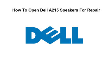 How To Open Dell A215 Speakers For Repair