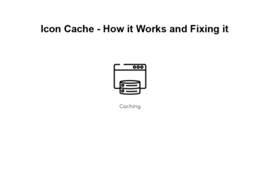 Icon Cache - How it Works and Fixing it